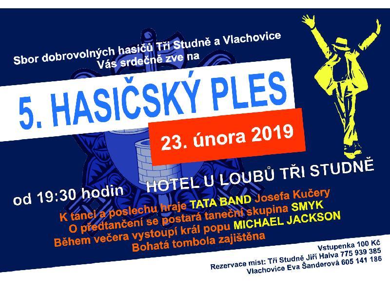 HASIČSKÝ PLES 23. února 2019